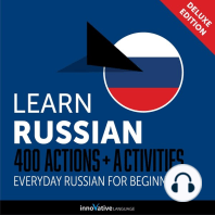 Everyday Russian for Beginners - 400 Actions & Activities