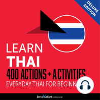 Everyday Thai for Beginners - 400 Actions & Activities