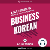 Learn Korean: Ultimate Guide to Speaking Business Korean for Beginners (Deluxe Edition)