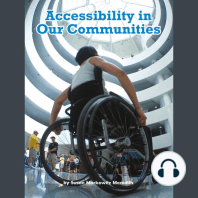 Accessibility in Our Communities