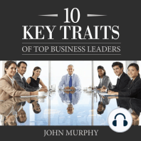 10 Key Traits of Top Business Leaders