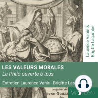 Les valeurs morales