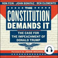 The Constitution Demands It