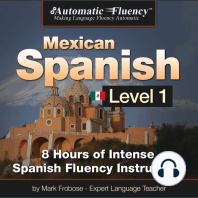 Automatic Fluency® Mexican Spanish - Level 1