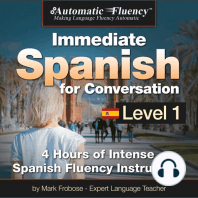 Automatic Fluency® Immediate Spanish for Conversation Level 1