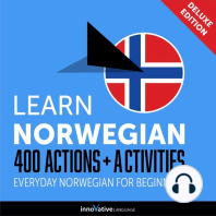 Everyday Norwegian for Beginners - 400 Actions & Activities