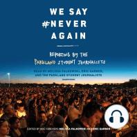 We Say #NeverAgain