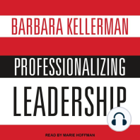 Professionalizing Leadership