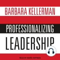 Professionalizing Leadership