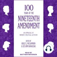 100 Years of the Nineteenth Amendment