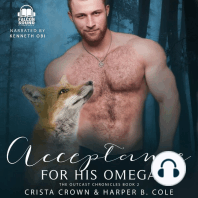 Acceptance For His Omega: M/M Alpha/Omega MPREG