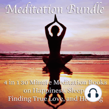 Meditation Bundle: 4 in 1 30 Minute Meditation Books On Happiness, Sleep, Finding True Love, And Healing