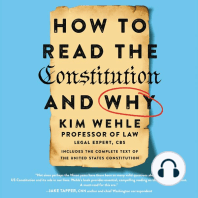 How to Read the Constitution–and Why