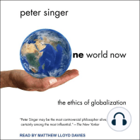 One World Now: The Ethics of Globalization