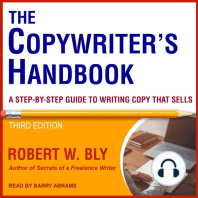 The Copywriter's Handbook: A Step-By-Step Guide to Writing Copy That Sells [Third Edition]