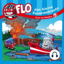 Feuer am Waldsee (Flo, das kleine Feuerwehrauto 9): Kinder-Hörspiel