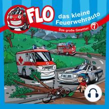 Das große Gewitter (Flo, das kleine Feuerwehrauto 7): Kinder-Hörspiel