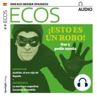 Spanisch lernen Audio - Diebstahl und Raub