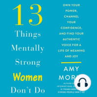 13 Things Mentally Strong Women Don't Do