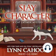 Slay in Character: A Cat Latimer Mystery