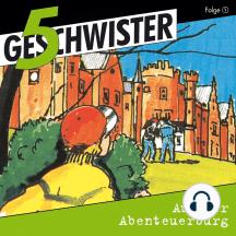 Auf der Abenteuerburg (5 Geschwister 1): Kinder-Hörspiel