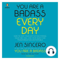 You Are a Badass Every Day