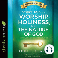 Scriptures for Worship, Holiness, and the Nature of God