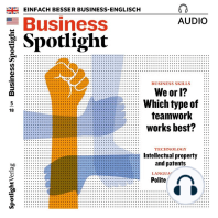 Business-Englisch lernen Audio - Teamarbeit