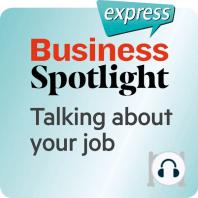 Business Spotlight express – Grundkenntnisse – Über Ihre Arbeit sprechen