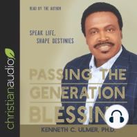 Passing the Generation Blessing