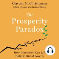 The Prosperity Paradox