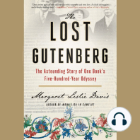 The Lost Gutenberg