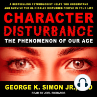 Character Disturbance