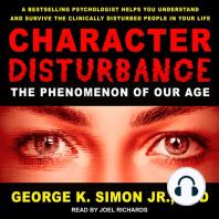 Character Disturbance