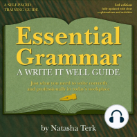 Essential Grammar: A Write It Well Guide, 3rd Revised Edition