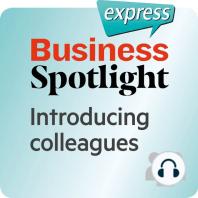 Business Spotlight express – Beziehungen – Kollegen vorstellen