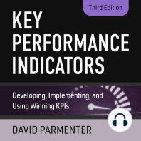 Key Performance Indicators: Developing, Implementing, and Using Winning KPIs, 3rd Edition