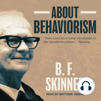 About Behaviorism