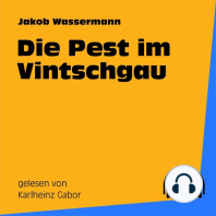 Die Pest im Vintschgau