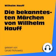 Die bekanntesten Märchen von Wilhelm Hauff