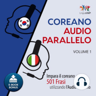 Audio Parallelo Coreano