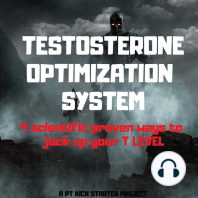 Testosterone Optimization System: The Ultimate Guide to Younger, Stronger, Happier Live, Diet Hacks, Lean Body Training Programme, Live Longer, Lose Fat