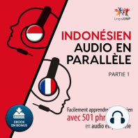 Indonsien audio en parallle