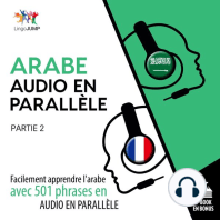 Arabe audio en parallle