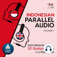 Indonesian Parallel Audio, Volume 1