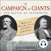 A Campaign of Giants--The Battle of Petersburg