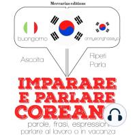 Imparare e parlare Coreano