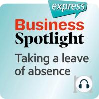 Business Spotlight express – Grundkenntnisse – Sich beurlauben lassen