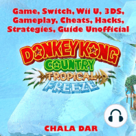 Donkey Kong Tropical Freeze Game, Switch, Wii U, 3DS, Gameplay, Cheats, Hacks, Strategies, Guide Unofficial