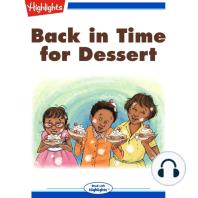 Back in Time for Dessert